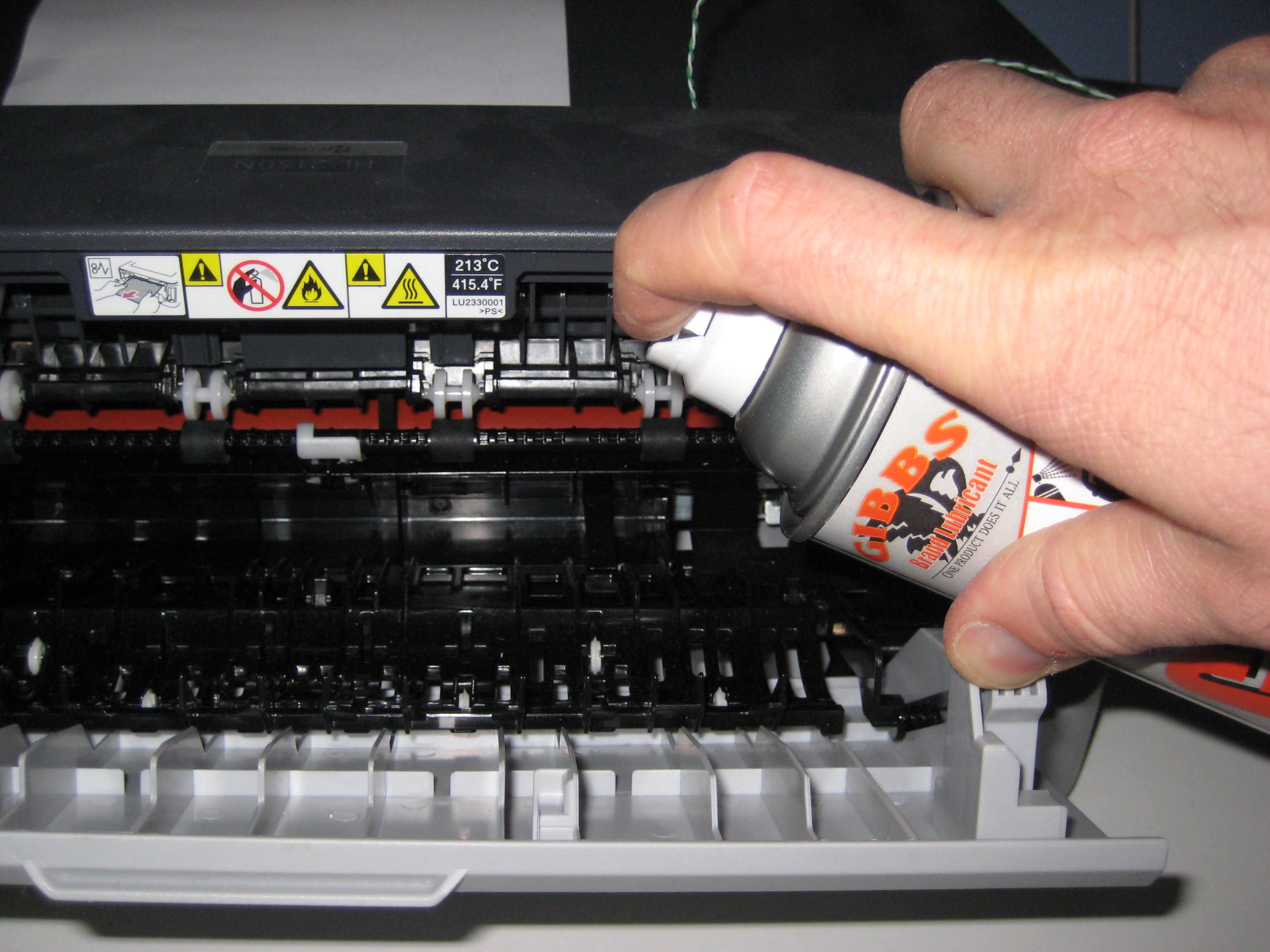 gibbs brand works fixing a squeaky brother hl 2150n laser printer the gibbs brand blog. Black Bedroom Furniture Sets. Home Design Ideas